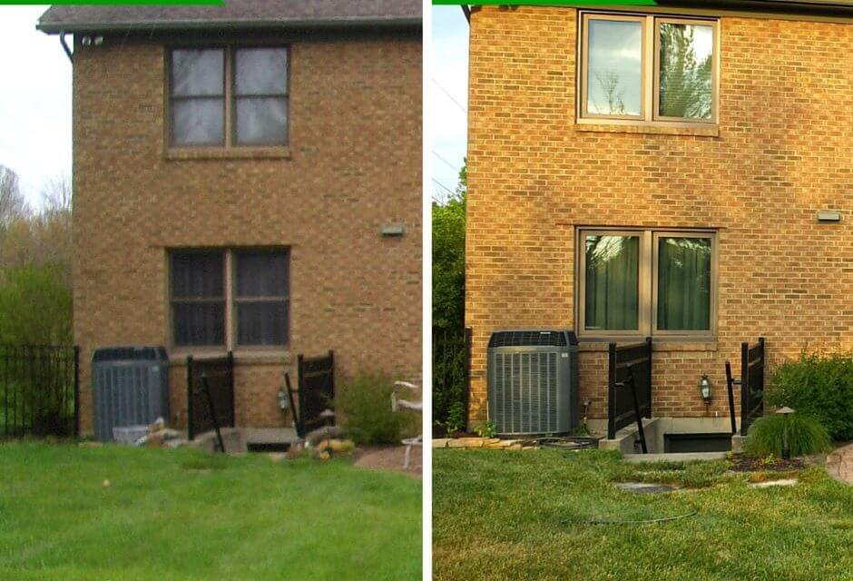 Double Hung Windows Before & After