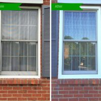 Window TruScene Screen Before & After