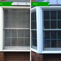 Bay Window Restoration Before & After