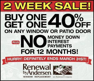 Replacement Window Special Offers
